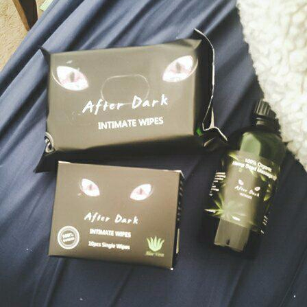 After Dark Wipes & Massage Oil